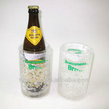 plastic beer cooler for single bottle