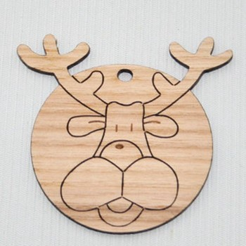 Reindeer Rudolph Pendant for christmas decoration
