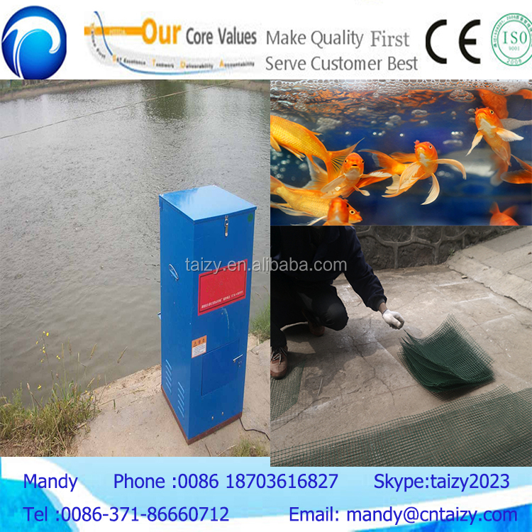 Automatic shrimp feeder fish feeder for pond wholesale for Fish feeder for pond