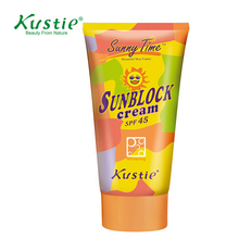 100% Nature Wholesale Waterproof Cream With Sunscreen Protection SPF45 Sunscreen Cream Sun Block lotion