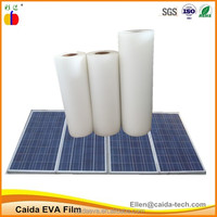 caida solar eva film for solar panel tempered glass lamination