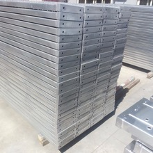 Building Suspended Access Scaffolding Steel Plank / Metal Decking