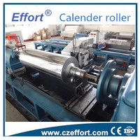 Calender roller for PET/PP/PS sheet extruding line made by cangzhou Effort machinery