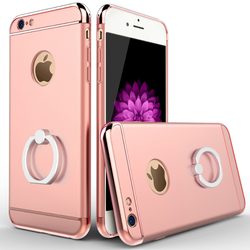 Holder Ring Case 360 Rotating Kickstand Smart Ring Anti Drop Shockproof Stand Grip Armor Cover Case For iPhone 6