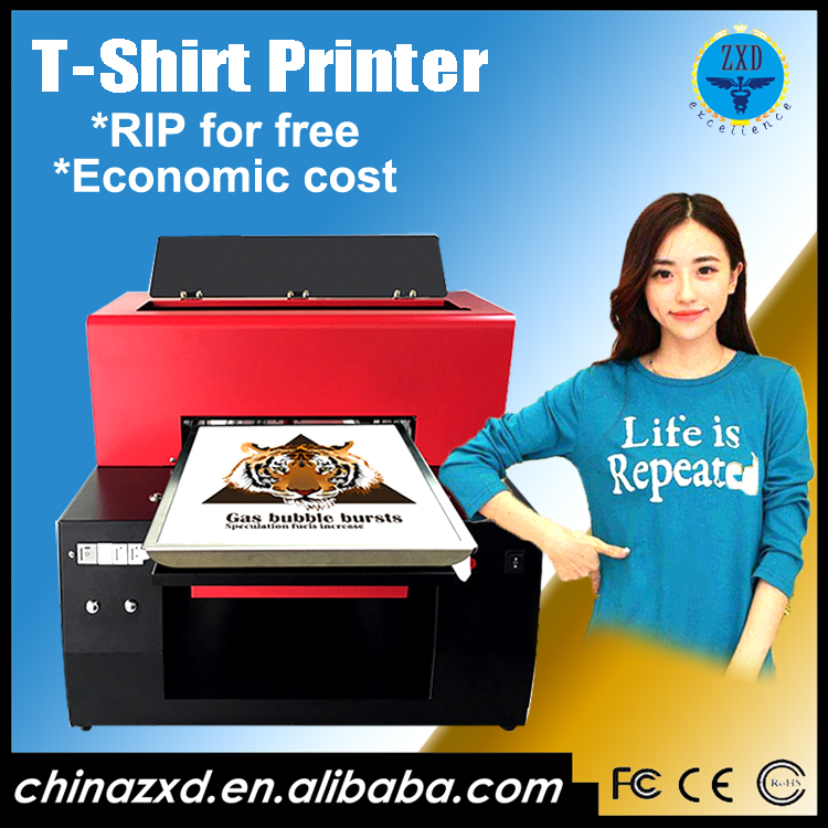 Best price A3 dtg automatic t-shirt printer/digital t shirt printing machines for sale