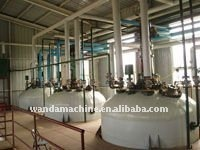 Wanda sell 10-30Ton/day castor/flax/hemp oil processing equipment