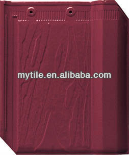 flat roof tile for sale rose red roof tile fired clay roof tile