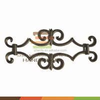 good quality garden fence decoration metal flower panels decoration