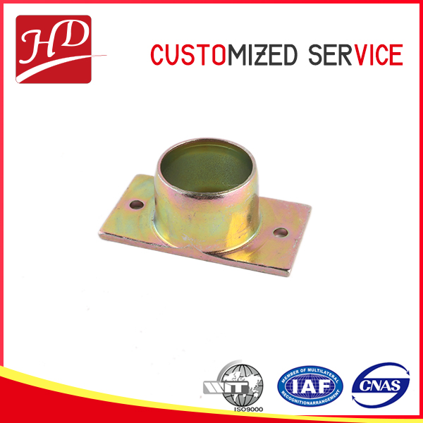 High quality high accuracy stamping metel aluminum base parts