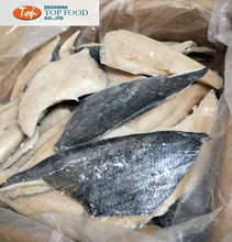 High quality frozen fish Brama brama fillet with skin on with EU number