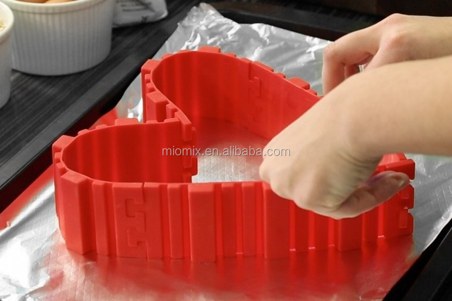 New Design Non-stick Food Grade Silicone Cake Mold