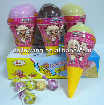 Jumbo Ice cream corn lollipop