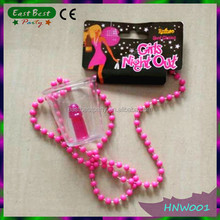 Hen Party Novelty Plastic Willy Shot Glass Necklace