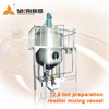 2.5 ton preparation reactor mixing vessel