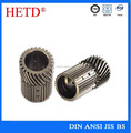 hetd brand china supplier High strength CNC machined steel gear