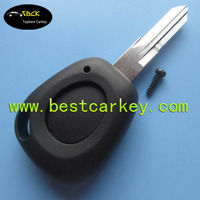 Topbest 1 button remote key fob with battery holder without logo car key fob