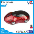 Fashion Sport Car Wireless mouse optical 2.4Ghz computer mouse