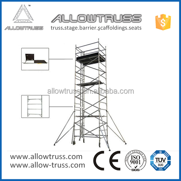 OEM/ODM service or 1000mm width folding scaffold ladder