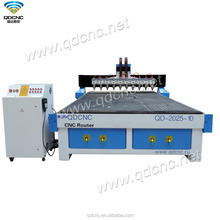 high quality 3 axis cnc wood router machine for cutting chipboard QD-2025-10