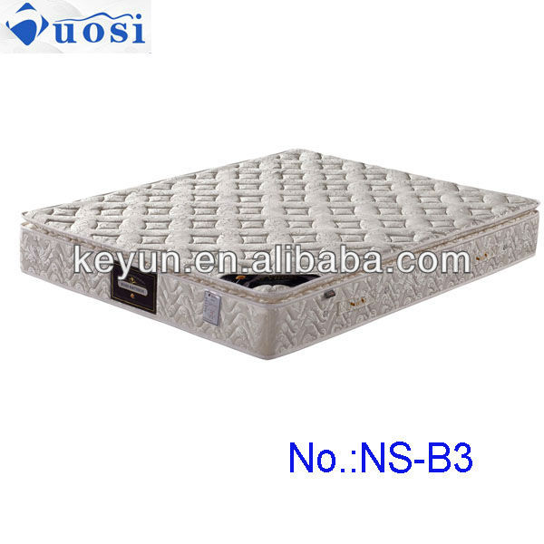 Pillow top spring sponge bed mattress NS-B3