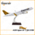 37cm Resin Material Handmade Decorative Airbus A320 Tiger 1:100 Airplane Model Airbus with Logo Designed for sale