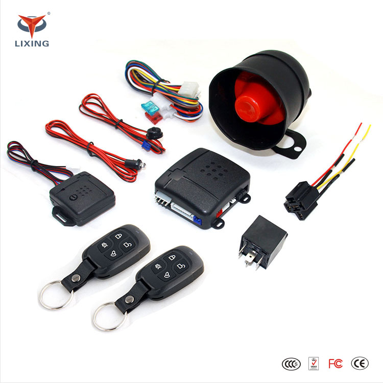 Universal Remote Control Engine Stop System Professional Car Alarm System With Remote Engine Start Car Keyless Entry