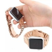 Wholesale fashionable stainless steel watch band strap for Apple