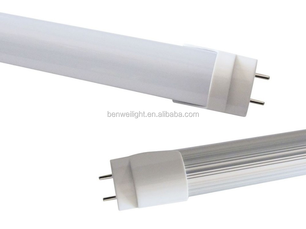 common t8 tube 100lm/w 10w / 2ft led t8 fluorescent tubes UL & DLC listed 9w 18w 22w led tube lamp