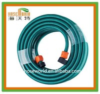 "hoseworld 1/2"" PVC hose with plastic fittings for car wash Garden hose"