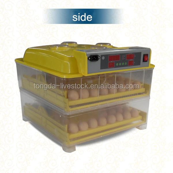 Poultry hatchery machine 96 mini egg incubator made in China