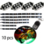 108-LED 10-pc Multi-Color LED Motorcycle Accent Light Kit