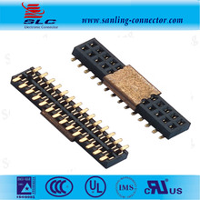 2.54mm 14 Pin PCB connector 1.27mm SMT female header