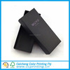 Disposable Feature Folding Black Cardboard Shoes Packaging Box