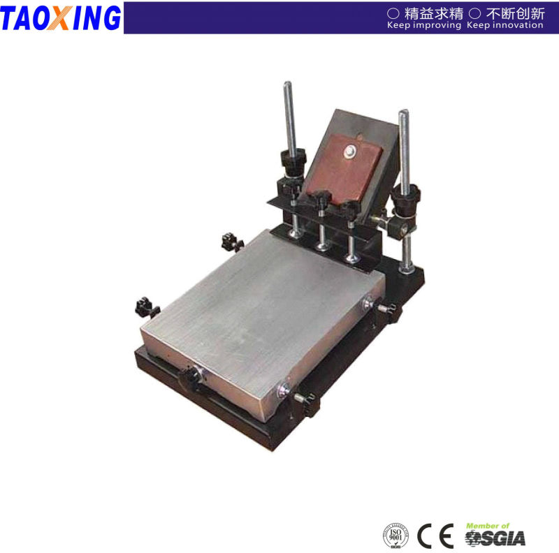 TX6080 used manual screen printing machines for pillowcases
