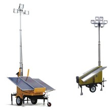 Classic look CE approved high quality 400w mobile light tower