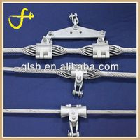 Good quality cable suspension clamp waterproof splice closure