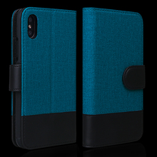 Colorful multifunctional phone case for iphone X with card holders