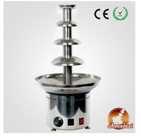 CHOCOLAZI ANT-8060 Auger 4 tiers stainless steel commercial chocolate making machine