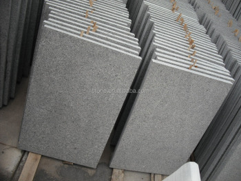 Black Grey Granite G654 Flamed Dark Grey Granite G654 Granite Slabs and Tiles