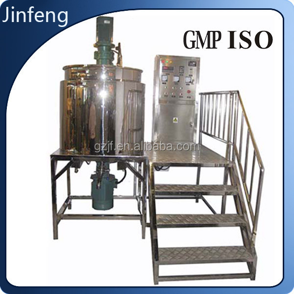 Liquid Soap Detergent Shampoo making machine price mixer mixing tank with agitator