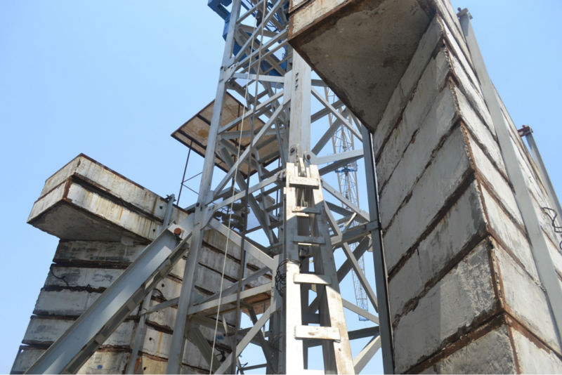 Tower Crane Portable Foundation