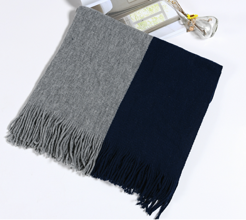 Inner Mongolia Manufacturer Woolen Plain Scarf Winter Cashmere Women Shawls And Scarves