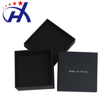 Wholesale Hot Sale Stock Black Cardboad Gift Custom boxes with logo