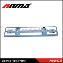 Promotional gift Crystal Euro car number plate frame