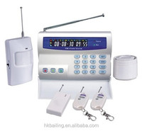 Home store office warehouse security usage autodial gsm sms security alarm system