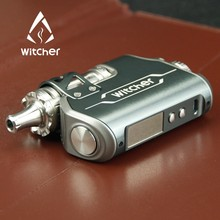 Wholesale UK Pencil Kuwait & Vape Pen Vaporizer Oman E Cigarette Gray Color 75w Witcher With 5.5ml Tank