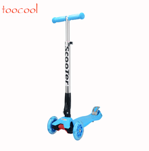 TK01 Hot Sale Folding Children Kick Scooters Three Wheel Kids Scooters