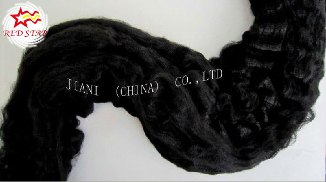 Polyester tow / black recycled tow cotton fiber, polyester staple fiber price,pet bottles recycle polyester staple fiber