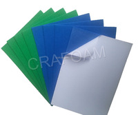 nonwoven self adhesive fabric/color felt/polyester needle felt sheets and rolls made in China