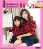 Fashion Hot Grid Pattern Clothes Wholesale Top Quality New Design Cotton Casual Kids Mother Clothes